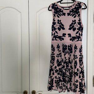 Eliza J Floral Knit Dress Size Large